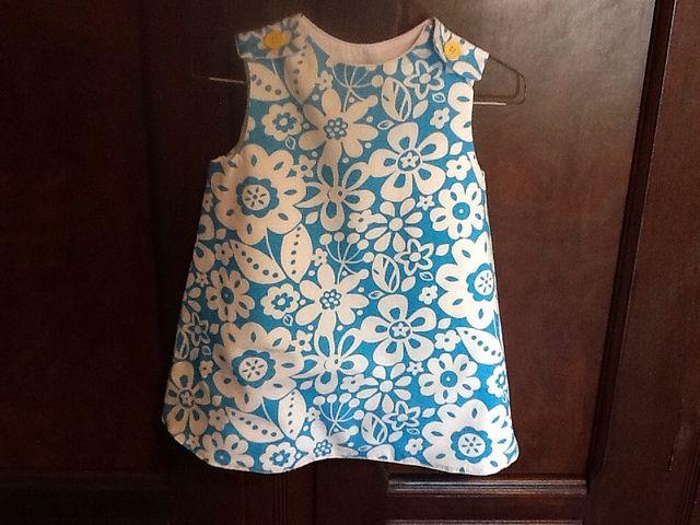 Cottage Mama pattern-Ruby Ruffle Dress , view C