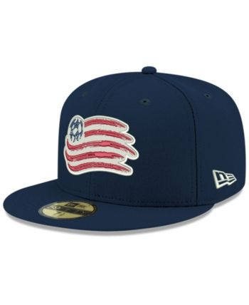 91616bc05a2 New Era New England Revolution Core 59FIFTY-fitted Cap - Blue 7 1 8