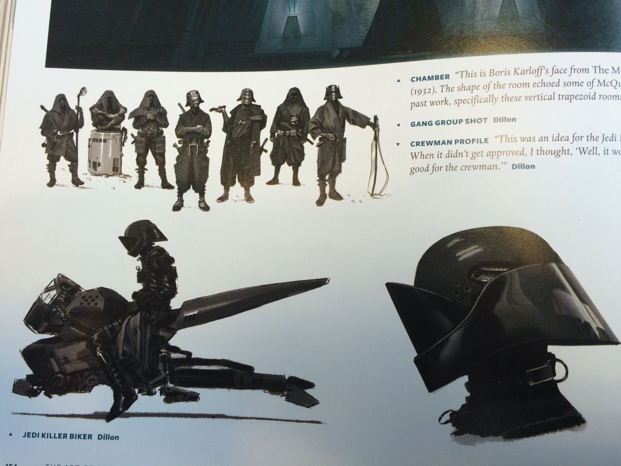 Jedi Killer Concept Art - possibly concept art for knights of ren?