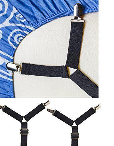 Criss Cross Bed Sheet Holder Straps Pack Of 2 Sheet Str Https Www Amazon Com Dp B072zv7jsm Ref Cm Sw Queen Mattress Size King Bed Sheets Printed Sheets