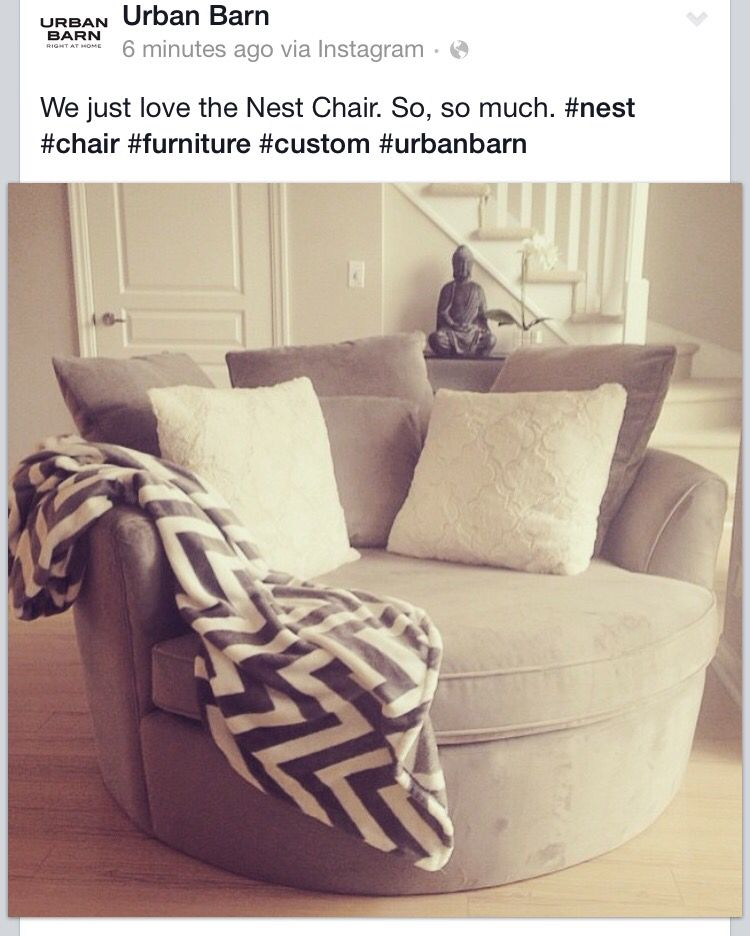 Perfect Nest Chair From Urban Barn