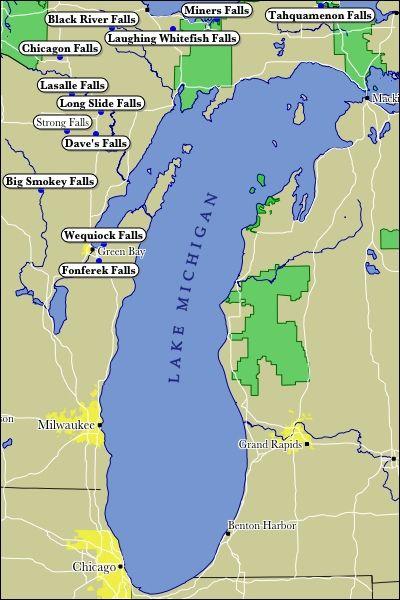 Pictures Of Sister Lakes Mi Lake Michigan Waterfalls Home Sweet