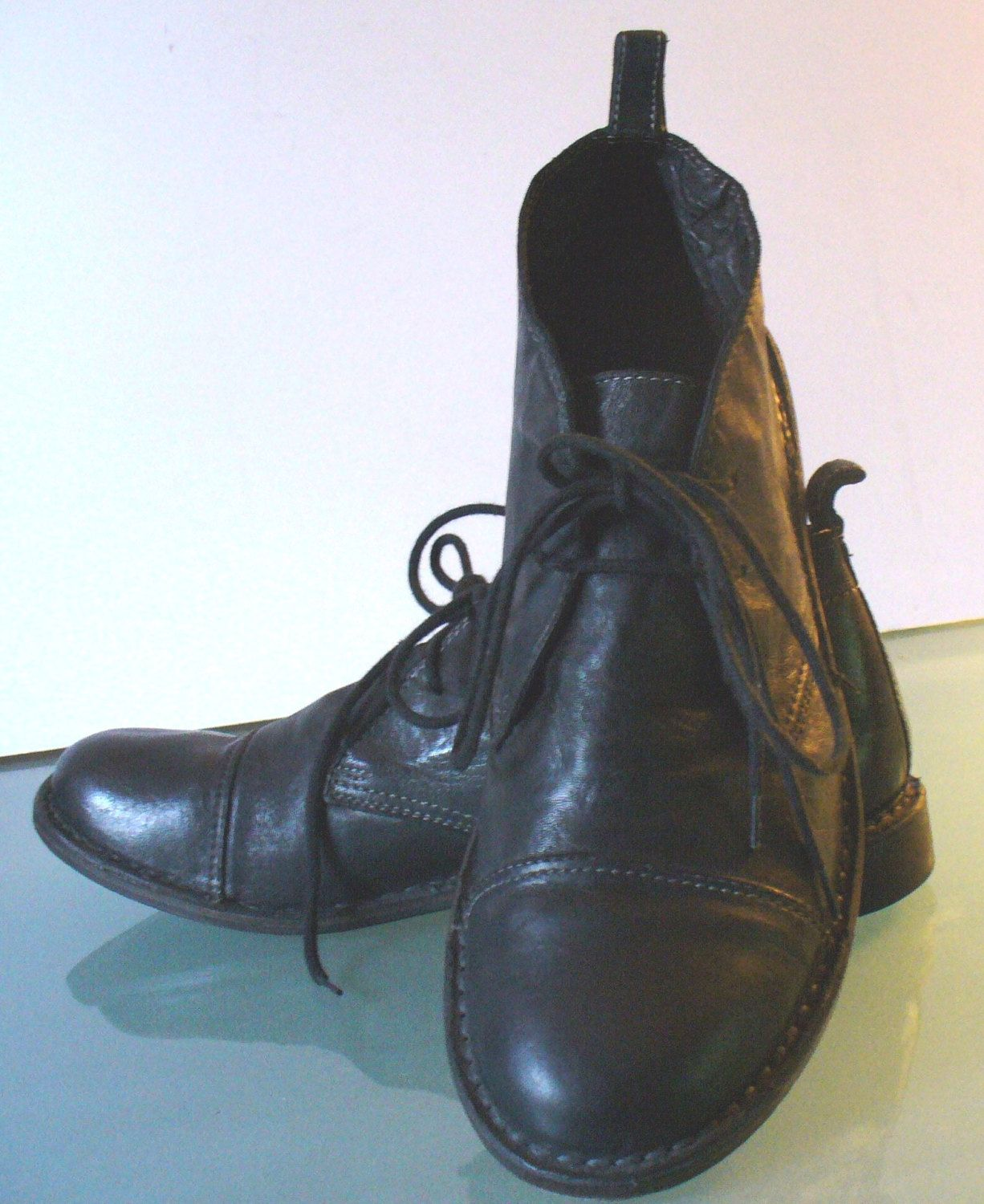 Cooperative Johnston Murphy Black Leather Slip On Loafer Dress Shoes Size 10m Attractive Appearance Dress Shoes