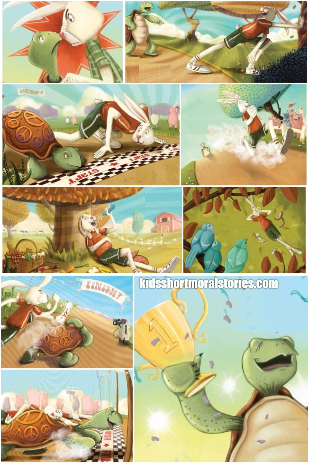Hare And Tortoise Short Story With Pictures With Images