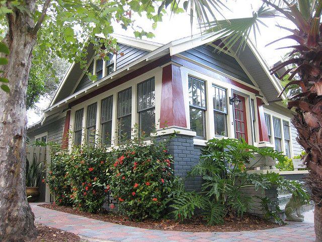 Twin Bungalows Part Ii Craftsman Porch Bungalow Porch