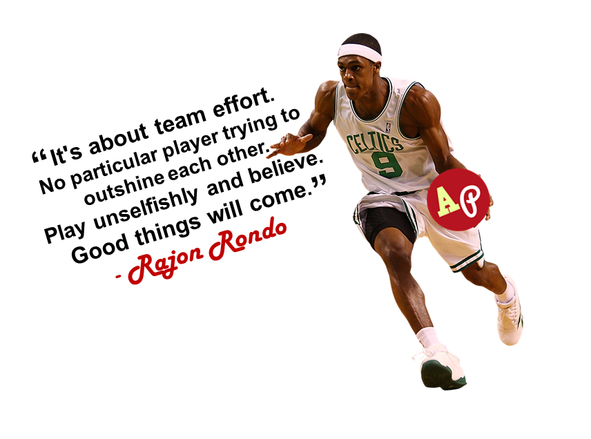"""""""It's about team effort. No particular player trying to"""