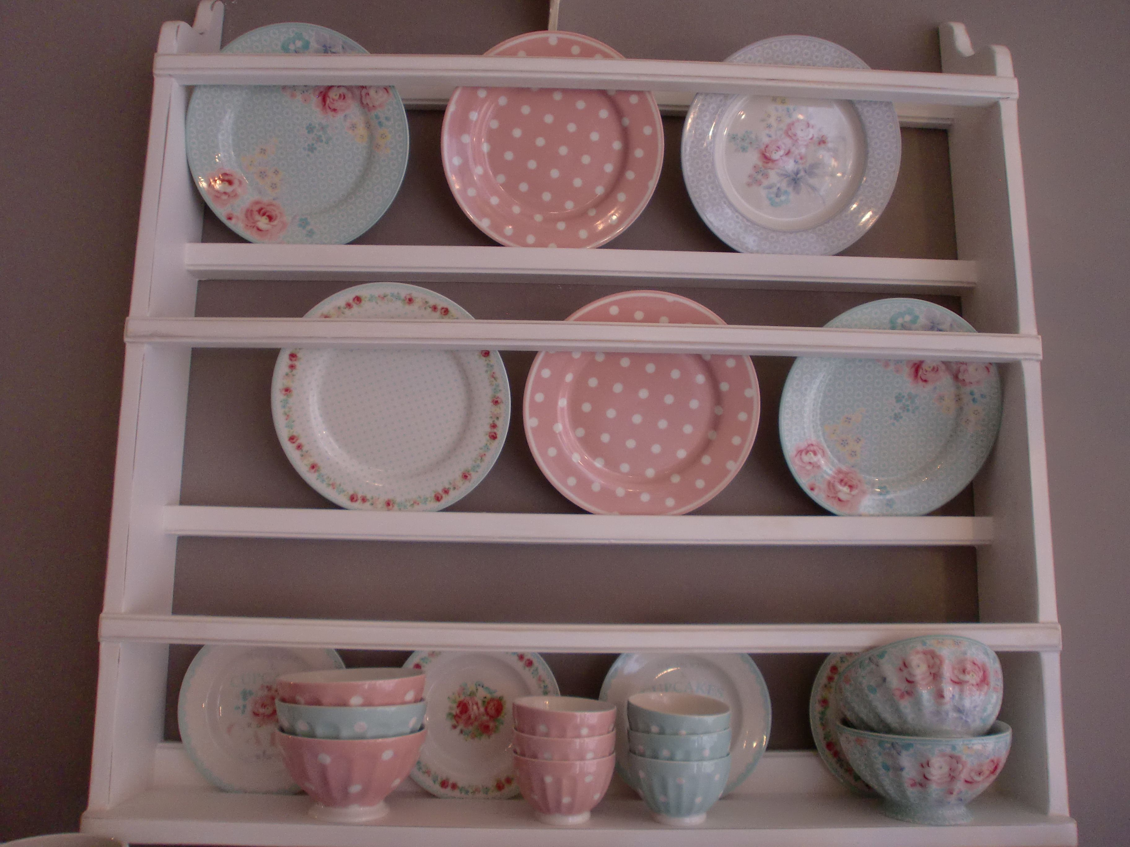 Best Greengate Stoneware Mix Match In Mint Pink And Grey 400 x 300