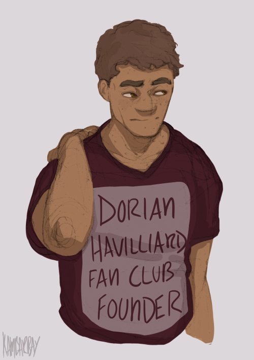 Chaol would totally be the creator of the Dorian Fan Club
