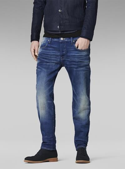 3301 LOW TAPERED G Star | Jeans, Disenos de unas