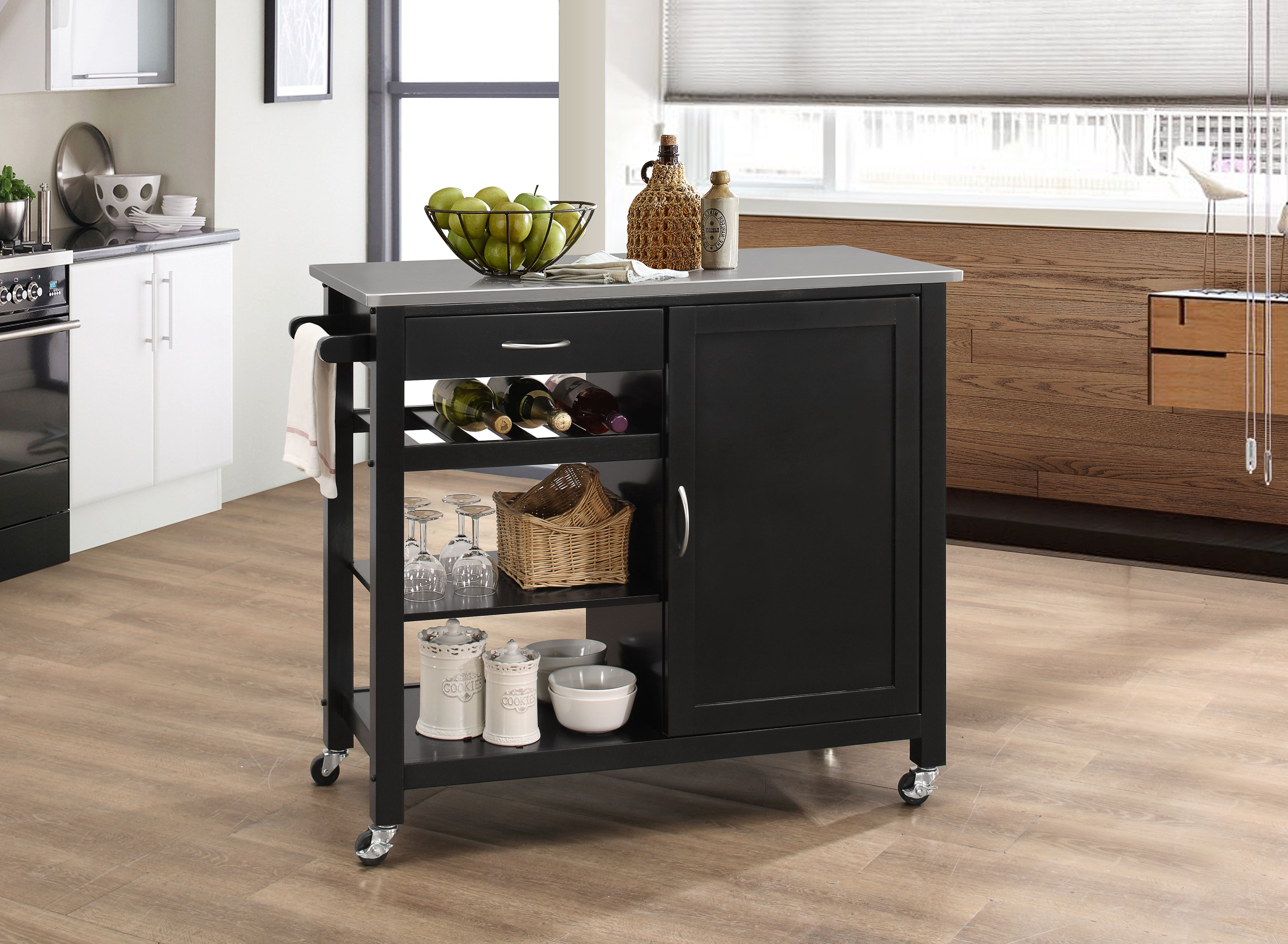 The Warehouse At Huck Finn Furniture Store In Albany Ny Kitchen Cart Black Kitchens Kitchen Island Cart