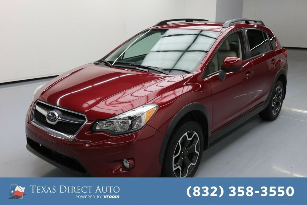 For Sale 2014 Subaru XV Crosstrek Limited Texas Direct