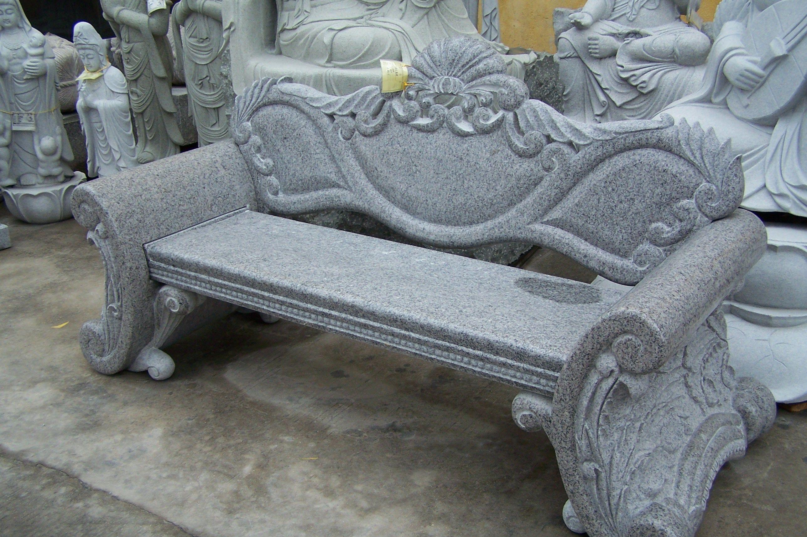 Super Classic Gray Custom Granite Bench Pacific Coast Memorials Ibusinesslaw Wood Chair Design Ideas Ibusinesslaworg