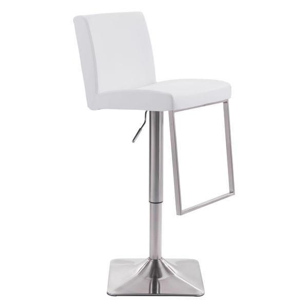 lyon white bar chair bar chairs bar stools bar rh pinterest com