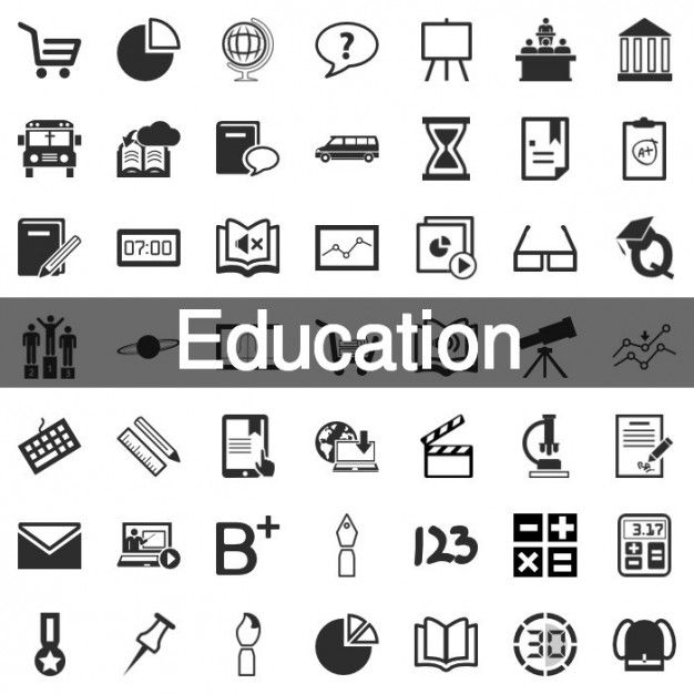 Download 199 Education Icon Set For Free With Images Education
