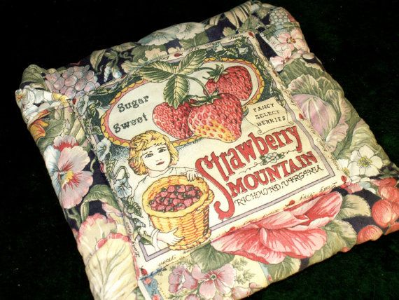 Vintage hot pad scented insert by dagutzyone on Etsy, $6.00