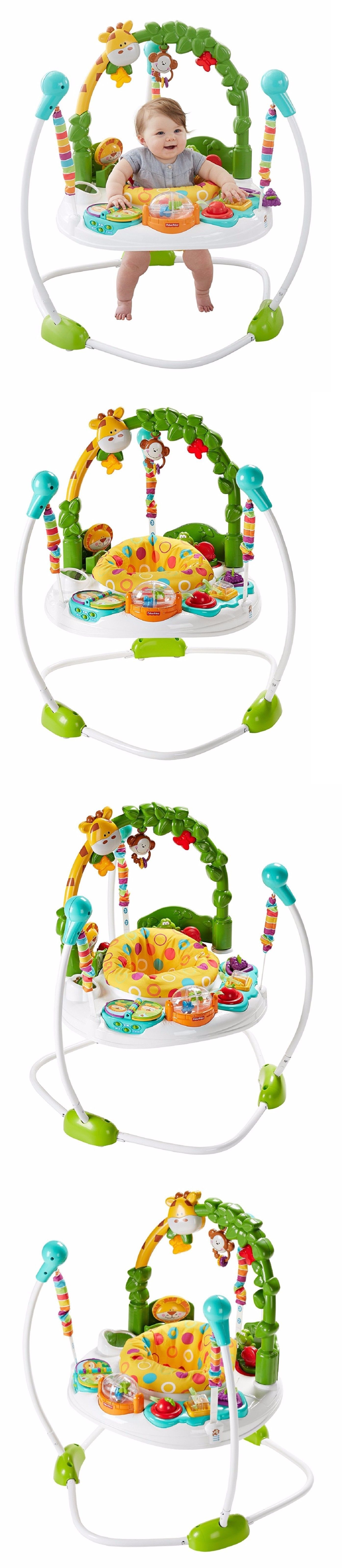bd3ba489a FISHER PRICE JUMPER GO WILD JUMPEROO Baby Toddler Music Lights ...