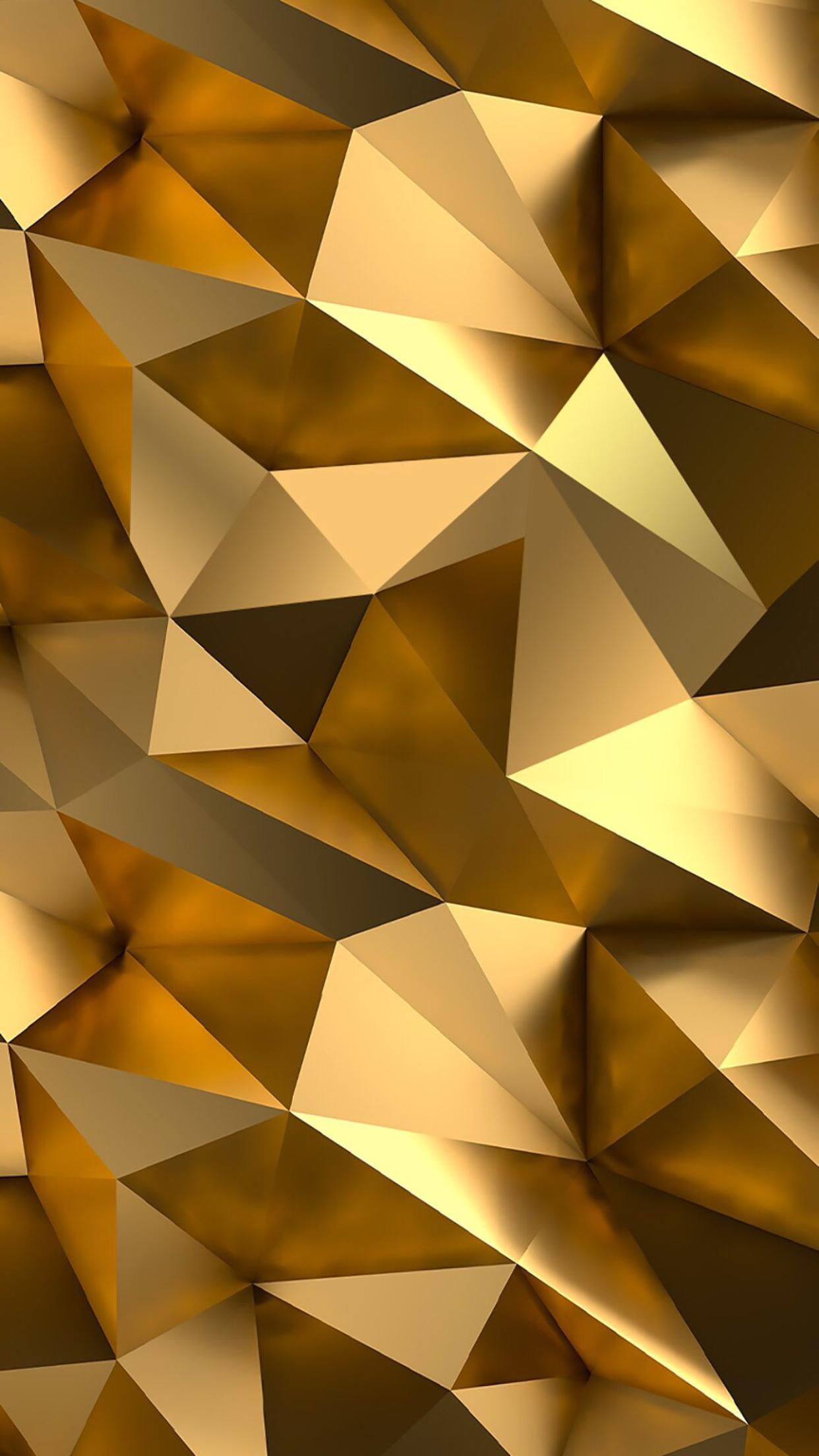 Gold & golden iPhone Wallpaper