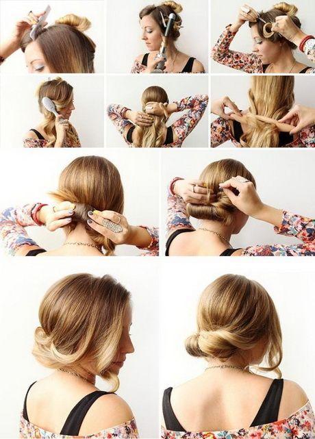 Einfache Steckfrisuren Für Schulterlanges Haar Hairstyle Long