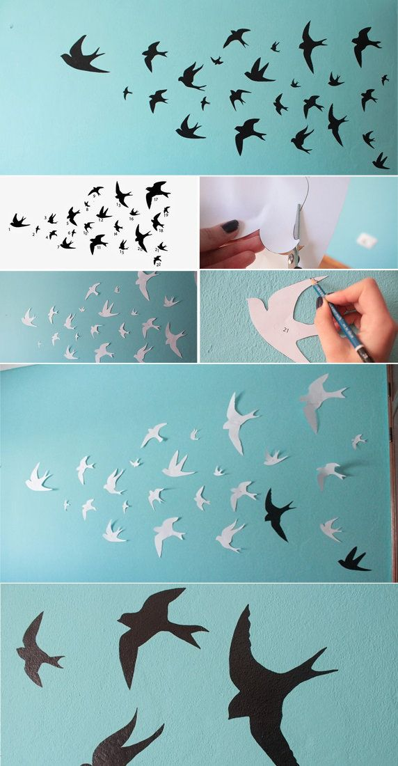 Swallows Wall Decor