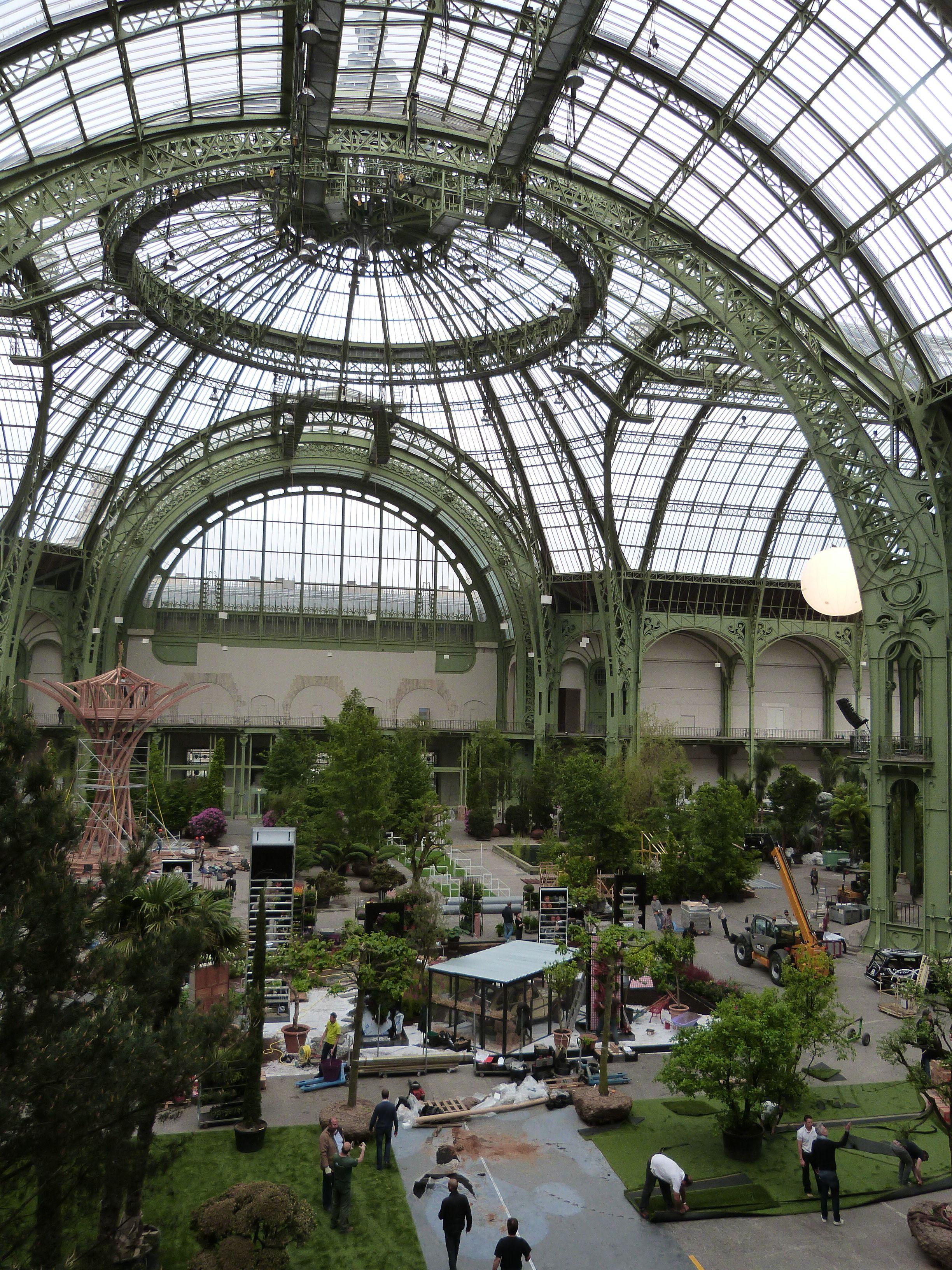 Potager Vintage TRUFFAUT pour L\'art du Jardin, au Grand Palais ...