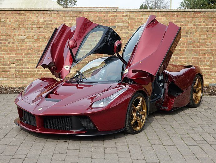 Cool Ferrari 2017: 2016 Ferrari LaFerrari In Rosso Rubino And Cuoio  Alcantara Interior. Home Design Ideas