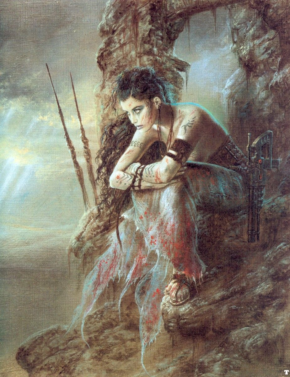The wait by luis royo artist luis royo pinterest arte the wait by luis royo voltagebd Image collections