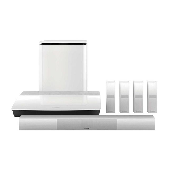 Bose – Home Cinema Bose Lifestyle SoundTouch Blanco 650 Wi-Fi y Bluetooth