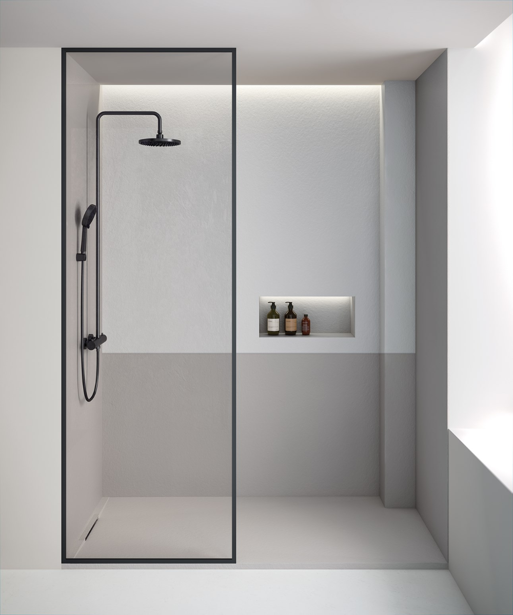 Fiora Salle De Bain fiora won the if design award 2020 the limite shower tray in