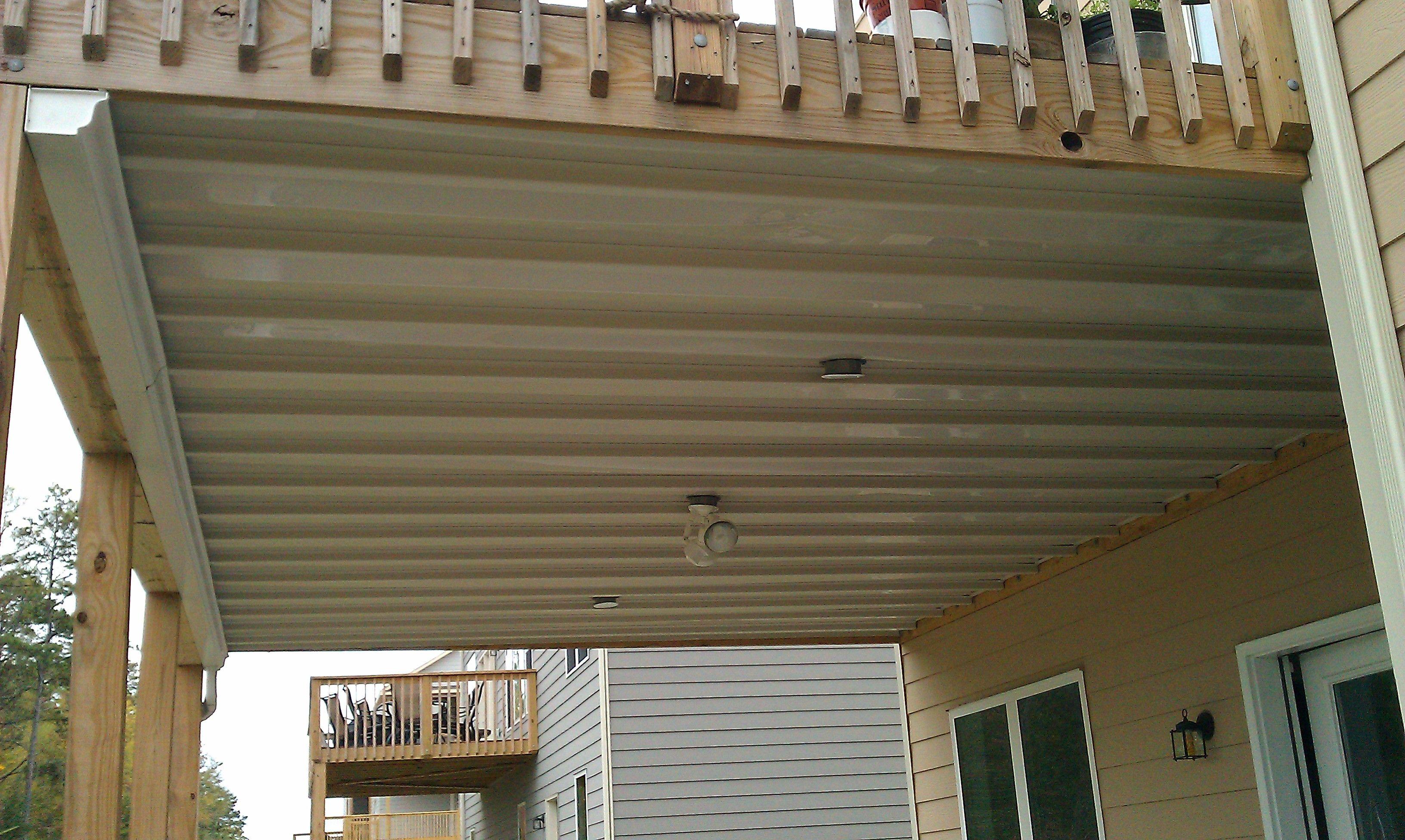 Under Deck Ceiling System Under Deck Ceiling Deck Remodel
