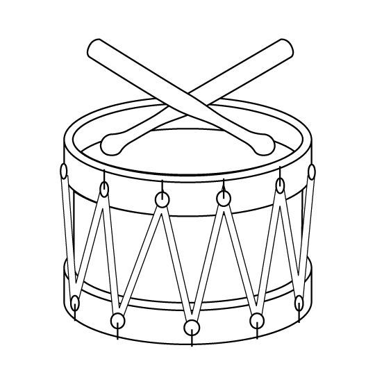 Image result for line art drawing of revolutionary drum