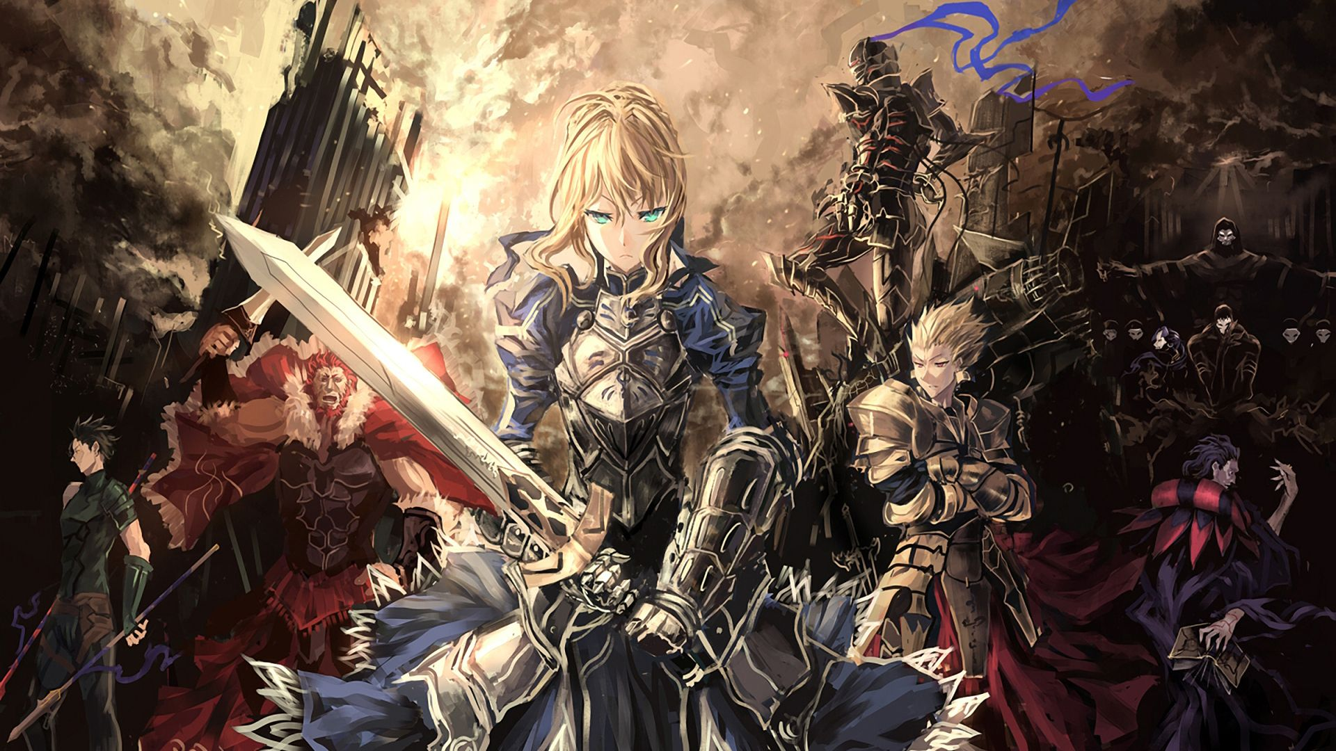 Fate Stay Night Wallpaper Anime Fate Stay Night Anime