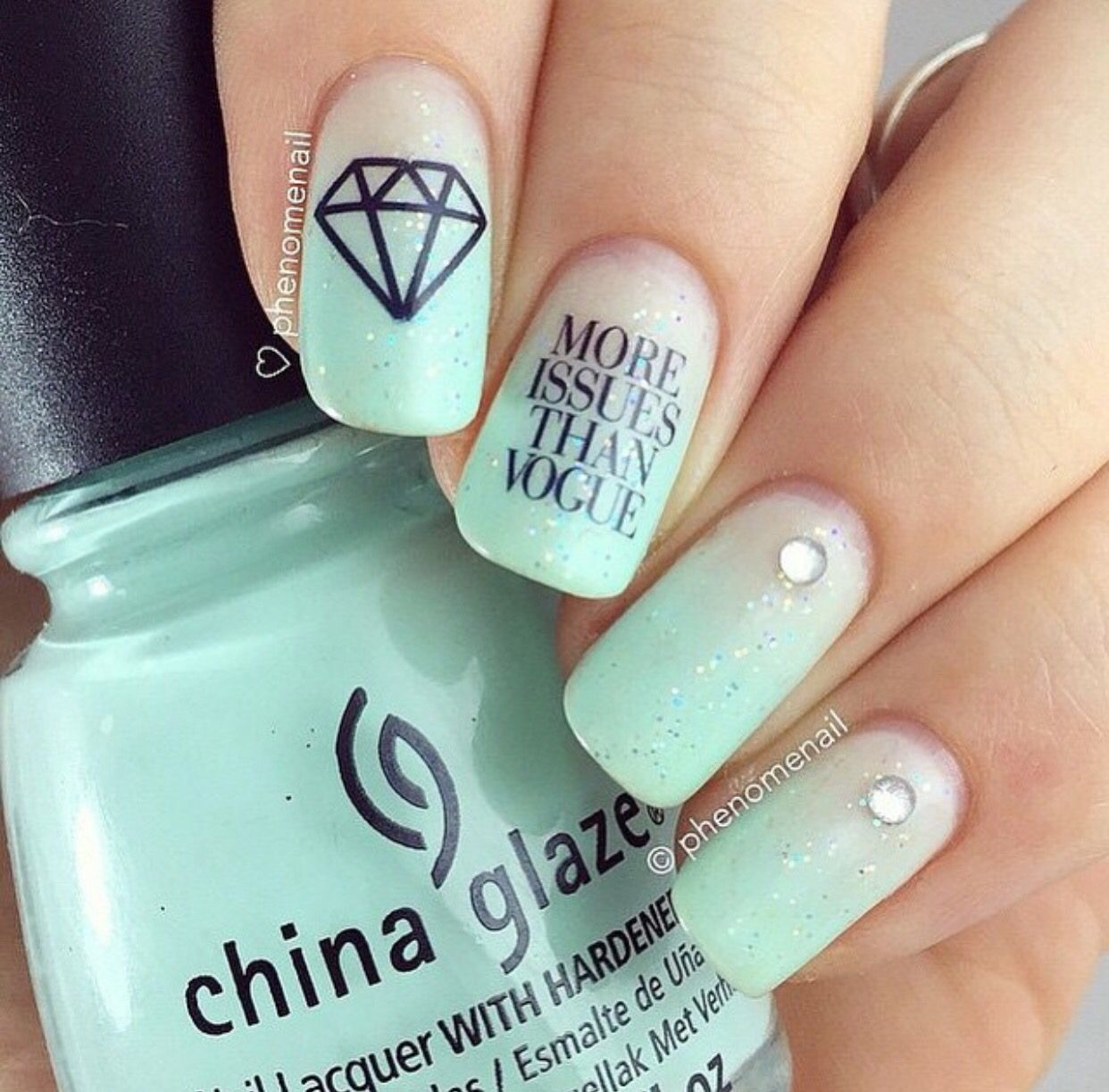 More issues than Vogue | Nails | Pinterest | Diseños de uñas y Pintar