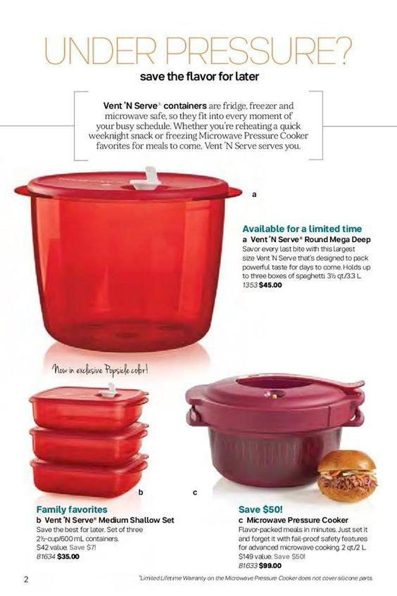 Tupperware Pressure Cooker And Vent N
