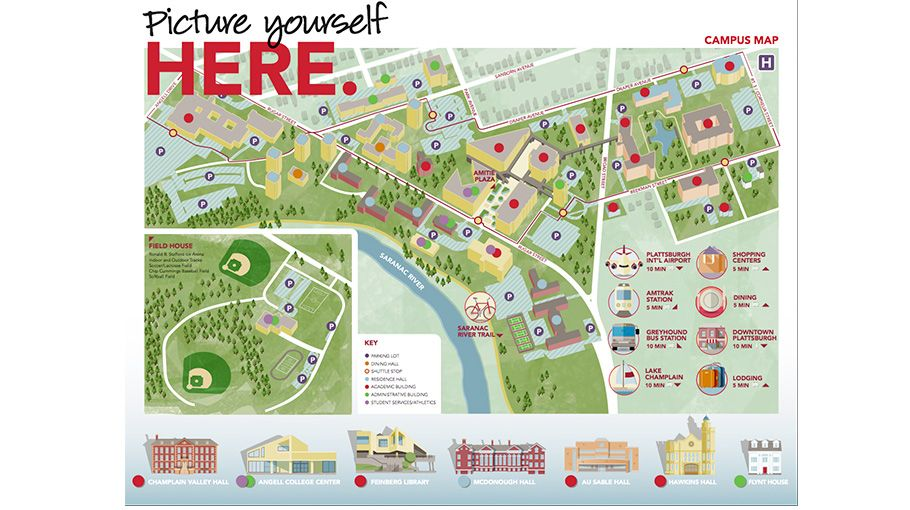 Manhattanville Campus Map.Suny Plattsburgh Campus Map Maps Infographics Pinterest