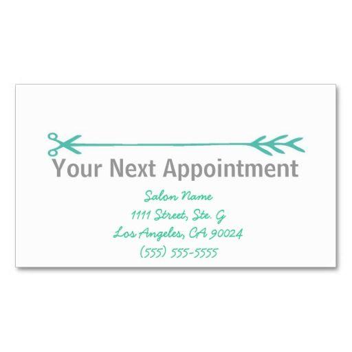 Appointment business card template etamemibawa appointment business card template flashek Images