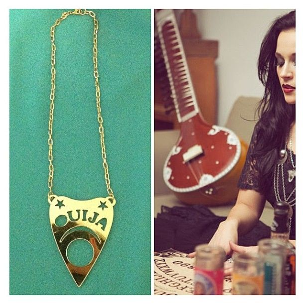 Ouija Planchette Necklace Is Back Online Fashion