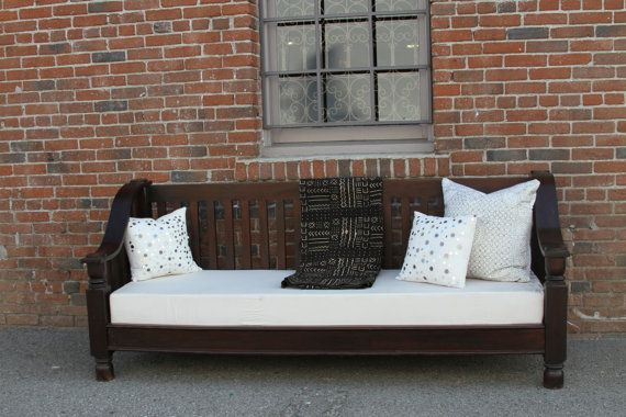 CLEARANCE California Mission Teak Bench By DeCorPasadena On Etsy