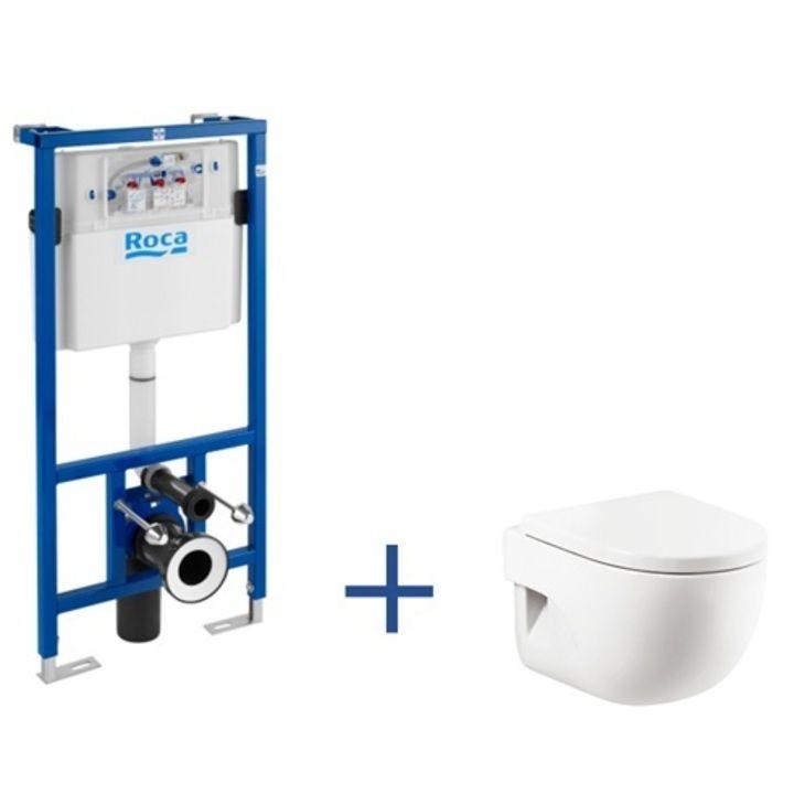 Zestaw Podtynkowy Duplo Miska Wc Podwieszana Meridian Compacto Z Powloka Maxiclean Miski Wc Podwieszane Wc Produkty Bathroom Accessories Home Decor Gap