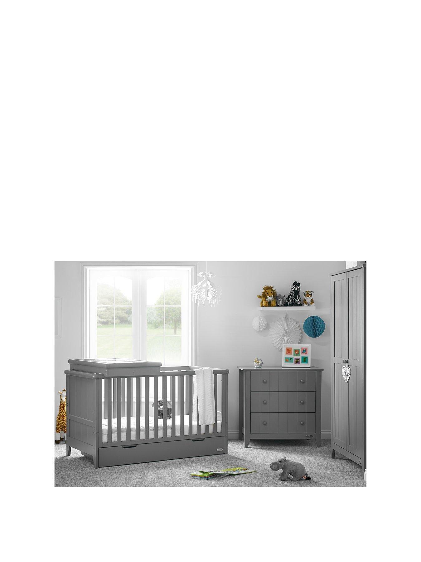 Belton 3 Piece Nursery Furniture Set Nursery Furniture Sets