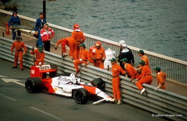 Ayrton Senna Mónaco 1988