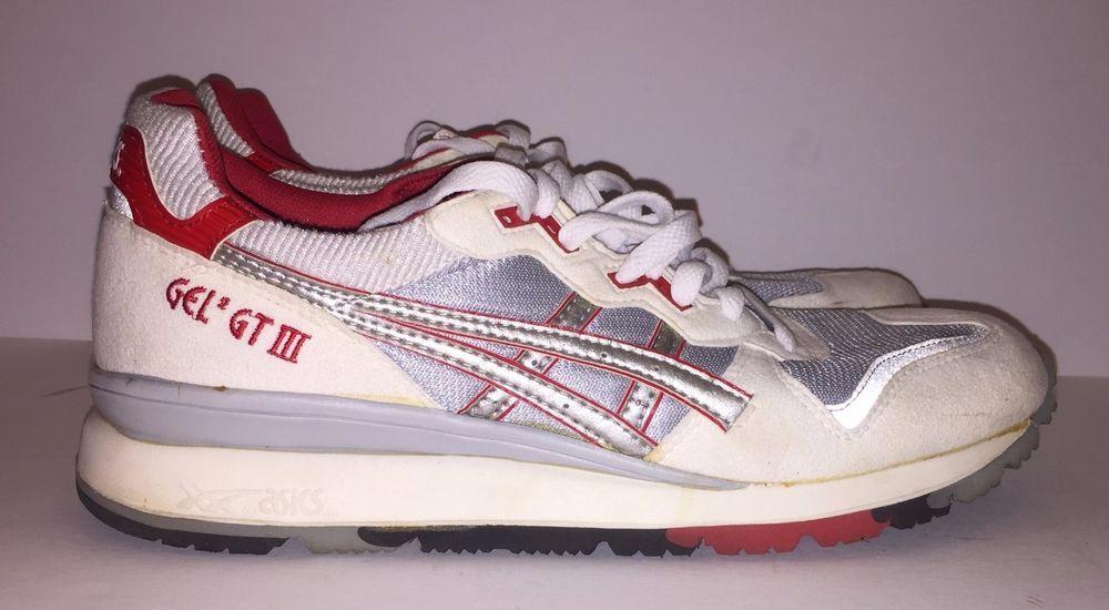 ASICS GEL GT III Deadstock Vintage  Runnings Shoes TN14  Sz 10 W/ BOX & BAG KITH
