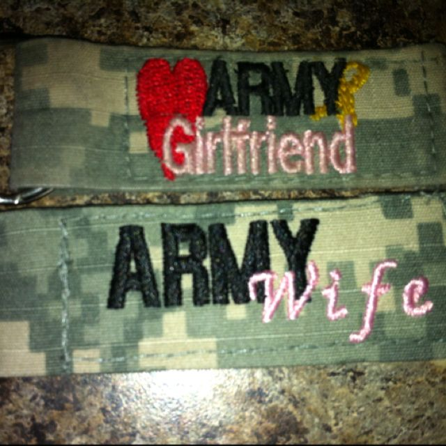 from army girlfriend to army wife. hooah.