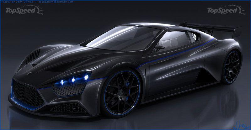 Zenvo Prices Us Bound St1 Supercar At 1 125 Million Gallery 378355 Sports Car Zenvo St1 Car
