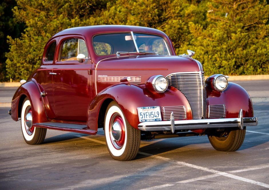 1939 Chevrolet Master Deluxe Business Coupe With Images Classic Cars