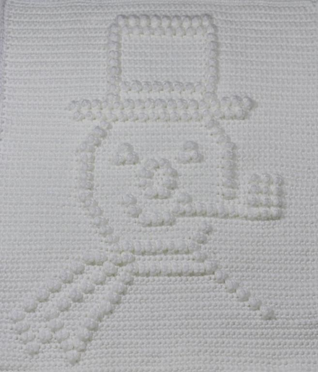 Frosty the Snowman Baby Blanket pattern on Craftsy.com $4