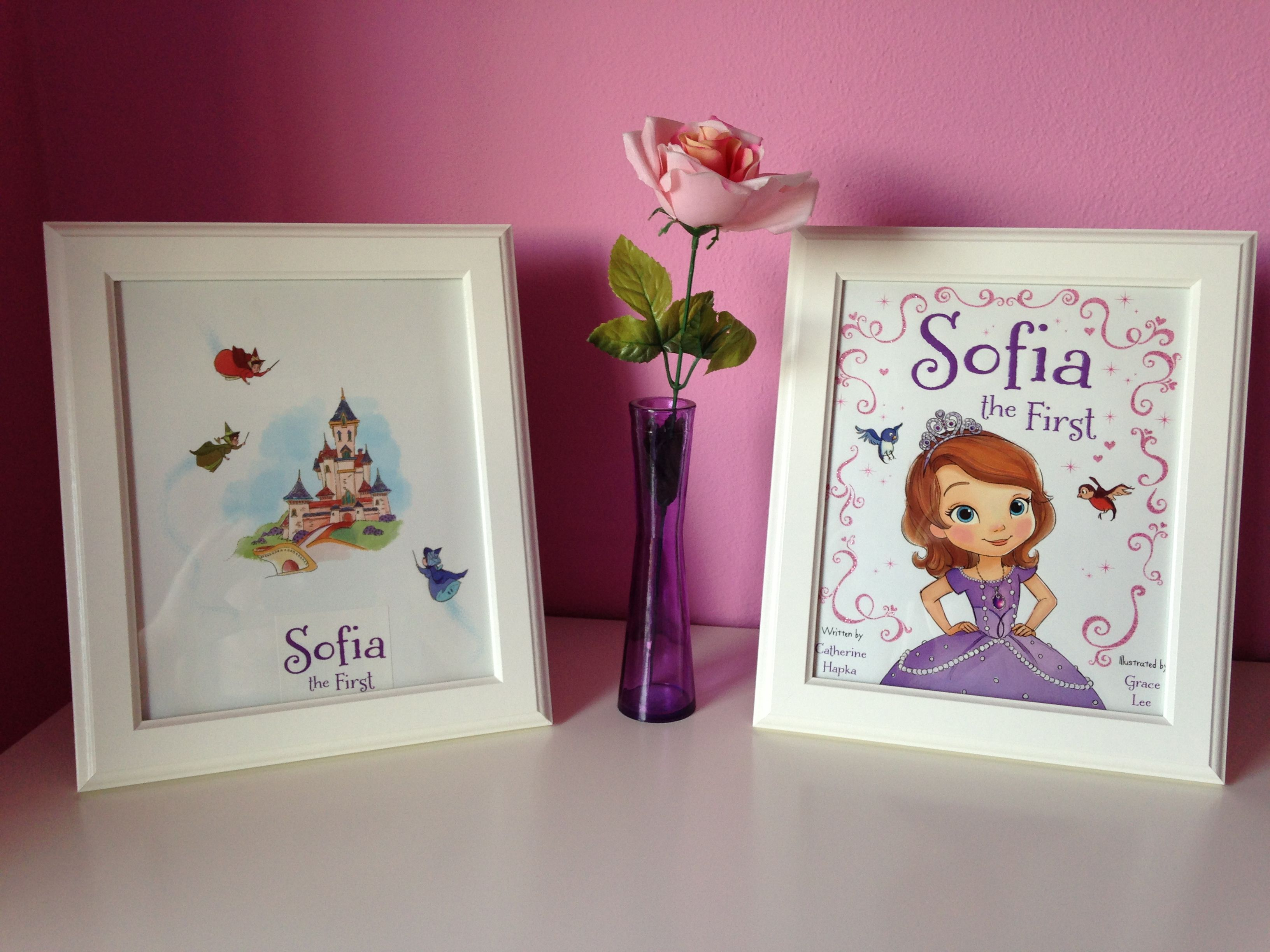DIY Sofia the First room decor - DIY princess room decor | Ideas ...