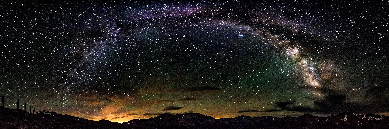 панорама космоса картинка щуку продолговатое, его
