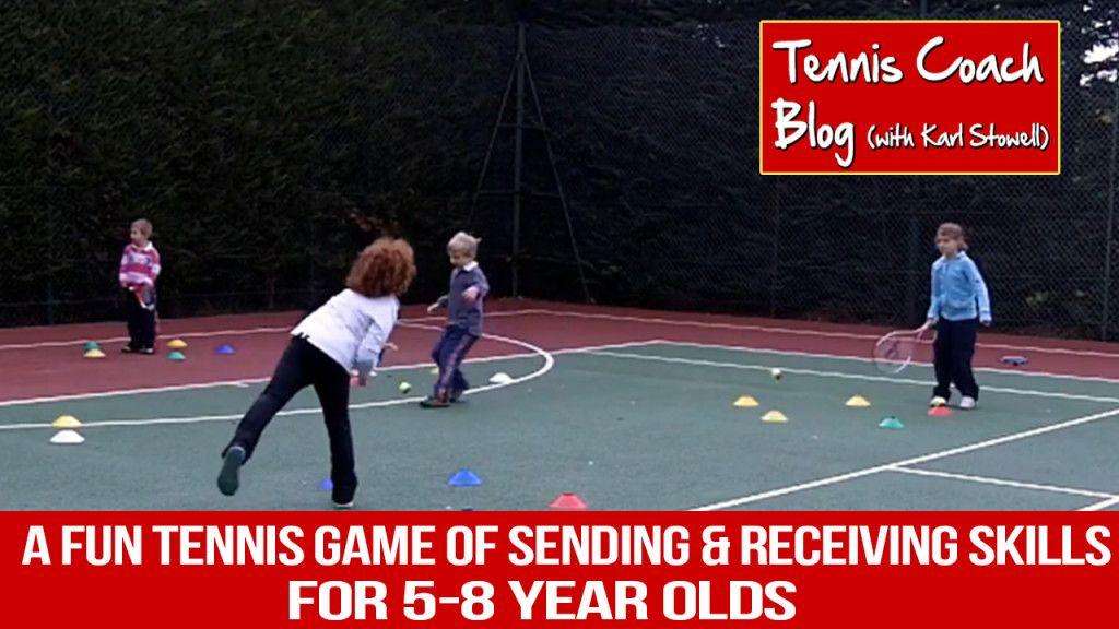 Little kids drills Sending & Receiving Drill for 58