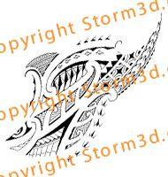 mauri-polynesian-tribal-forearm-lower-arm-tattoo-designs | Mixed ...