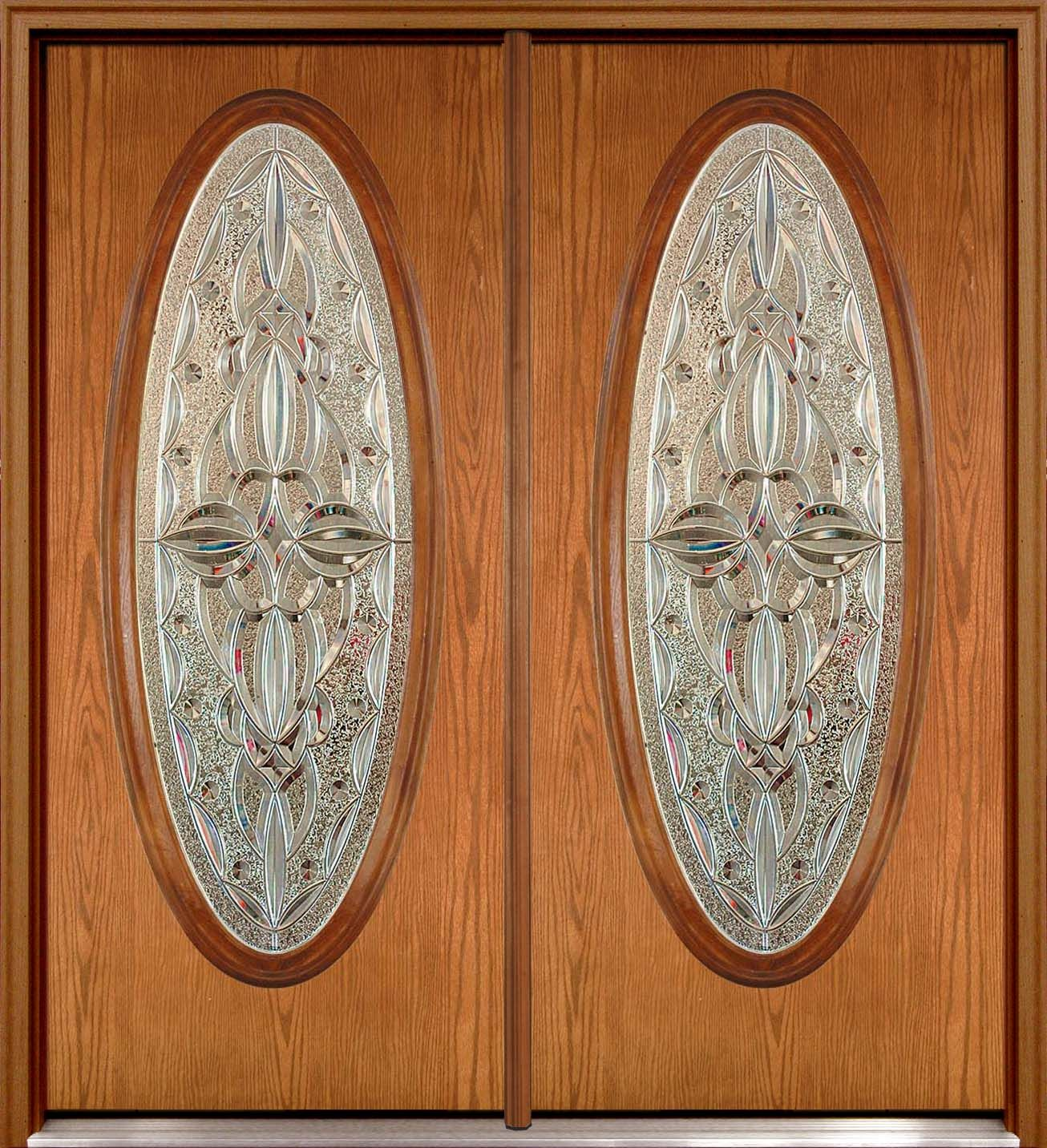 Front Doors With Oval Glass Inserts House Ideas Front Doors
